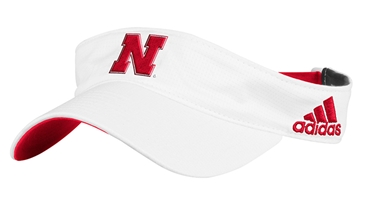 Adidas 2017 Nebraska Spring Game Visor Nebraska Cornhuskers, Nebraska  Mens Hats, Huskers  Mens Hats, Nebraska  Mens Hats, Huskers  Mens Hats, Nebraska Visor, Huskers  Visor, Nebraska Adidas Red and White Visor, Huskers Adidas Red and White Visor