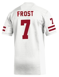 Adidas 2019 Frost #7 Away Jersey Nebraska Cornhuskers, Nebraska  Mens Jerseys, Huskers  Mens Jerseys, Nebraska  Mens Jerseys, Huskers  Mens Jerseys, Nebraska  Customized Jerseys  , Huskers  Customized Jerseys  , Nebraska Adidas Blank Replica Football Jersey, Huskers Adidas Blank Replica Football Jersey