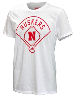 Adidas Around The Horn Huskers Baseball Tee Nebraska Cornhuskers, Nebraska  Baseball, Huskers  Baseball, Nebraska  Mens T-Shirts, Huskers  Mens T-Shirts, Nebraska  Mens, Huskers  Mens, Nebraska  Short Sleeve, Huskers  Short Sleeve, Nebraska Adidas Around The Horn Huskers Baseball Tee, Huskers Adidas Around The Horn Huskers Baseball Tee