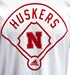 Adidas Around The Horn Huskers Baseball Tee - AT-C5059