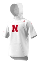 Adidas 2018 Nebraska Cager Hooded Warm Up Nebraska Cornhuskers, Nebraska  Mens T-Shirts, Huskers  Mens T-Shirts, Nebraska  Mens, Huskers  Mens, Nebraska  Short Sleeve, Huskers  Short Sleeve, Nebraska  Basketball , Huskers  Basketball , Nebraska Adidas Cornhusker Cager Hooded Warm Up, Huskers Adidas Cornhusker Cager Hooded Warm Up