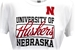 Adidas Ladies Nebraska Football Yola Tee - AT-B6079