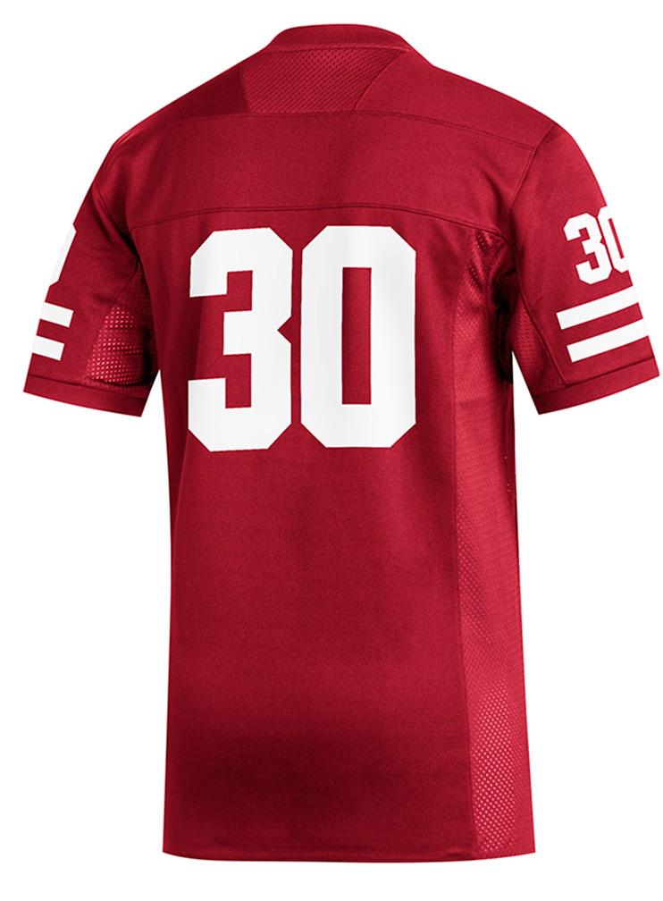 Adidas Nebraska 30 Home Jersey