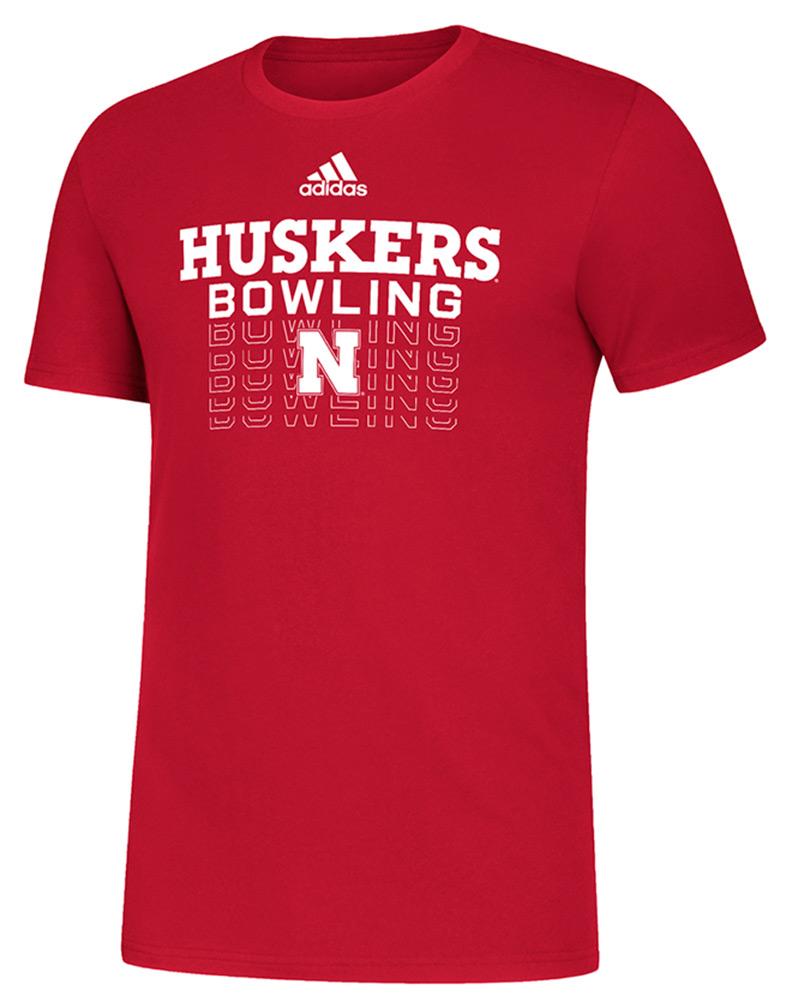 Adidas Nebraska Bowling Tee