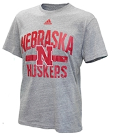 Adidas Nebraska Huskers Distressed Workout Triblend Nebraska Cornhuskers, Nebraska  Mens T-Shirts, Huskers  Mens T-Shirts, Nebraska  Mens, Huskers  Mens, Nebraska  Short Sleeve, Huskers  Short Sleeve, Nebraska Adidas Nebraska Huskers Distressed Workout Triblend, Huskers Adidas Nebraska Huskers Distressed Workout Triblend