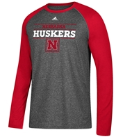 Adidas Nebraska Huskers Launch Raglan Nebraska Cornhuskers, Nebraska  Mens T-Shirts, Huskers  Mens T-Shirts, Nebraska  Mens, Huskers  Mens, Nebraska  Long Sleeve, Huskers  Long Sleeve, Nebraska Adidas Nebraska Huskers Launch Raglan, Huskers Adidas Nebraska Huskers Launch Raglan