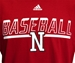 Adidas Safe At Home Nebraska Baseball Tee - AT-C5058