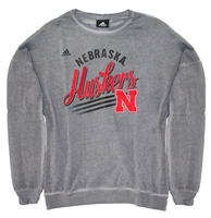 Adidas Youth Gals Huskers Banner Terry Pullover Nebraska Cornhuskers, Nebraska  Youth, Huskers  Youth, Nebraska  Kids, Huskers  Kids, Nebraska Gray Girls Banner Terry Pullover Adi, Huskers Gray Girls Banner Terry Pullover Adi