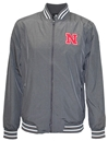 Colosseum Iron N Full Zip Blade Jacket Nebraska Cornhuskers, Nebraska  Mens Outerwear, Huskers  Mens Outerwear, Nebraska  Mens, Huskers  Mens, Nebraska Charcoal Blade Full Zip Jacket Col, Huskers Charcoal Blade Full Zip Jacket Col