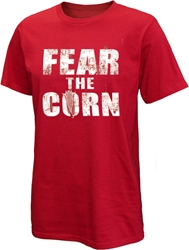 Fear The Corn Tee Nebraska Cornhuskers, Nebraska  T-Shirts, Huskers  T-Shirts, Nebraska  Mens, Huskers  Mens, Nebraska  Short Sleeve, Huskers  Short Sleeve, Nebraska Red Fear The Corn Short Sleeve Tee Western, Huskers Red Fear The Corn Short Sleeve Tee Western