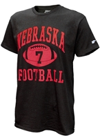 Frost 7 Nebraska Football Tee - Black Nebraska Cornhuskers, Nebraska  Mens T-Shirts, Huskers  Mens T-Shirts, Nebraska  Mens, Huskers  Mens, Nebraska  Short Sleeve, Huskers  Short Sleeve, Nebraska Frost 7 Nebraska Football Tee - Black, Huskers Frost 7 Nebraska Football Tee - Black