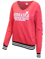 Go Big Red Gals Varsity Stripe Sweatshirt Nebraska Cornhuskers, Nebraska  Ladies Sweatshirts, Huskers  Ladies Sweatshirts, Nebraska  Ladies, Huskers  Ladies, Nebraska Go Big Red Gals Varsity Stripe Sweatshirt, Huskers Go Big Red Gals Varsity Stripe Sweatshirt