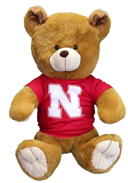 Go Big Red Jersey Bear Nebraska Cornhuskers, Nebraska  Toys & Games, Huskers  Toys & Games, Nebraska Go Big Red Jersey Bear, Huskers Go Big Red Jersey Bear