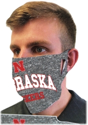 Husker Fan Mask Nebraska Cornhuskers, Nebraska  Ladies, Huskers  Ladies, Nebraska  Mens, Huskers  Mens, Nebraska  Mens Accessories, Huskers  Mens Accessories, Nebraska  Ladies Accessories, Huskers  Ladies Accessories, Nebraska Nebraska Huskers Mask, Huskers Nebraska Huskers Mask