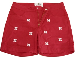 Husker Logo Embroidered Short Red Nebraska Cornhuskers, Nebraska  Shorts, Pants & Skirts, Huskers  Shorts, Pants & Skirts, Nebraska Shorts & Pants, Huskers Shorts & Pants, Nebraska Husker Logo Embroidered Short Red, Huskers Husker Logo Embroidered Short Red