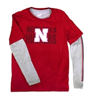 Husker Playmaker 3 in 1 Kids Shirt Set Nebraska Cornhuskers, Nebraska  Childrens, Huskers  Childrens, Nebraska  Kids, Huskers  Kids, Nebraska Husker Playmaker 3 in 1 Kids Shirt Set, Huskers Husker Playmaker 3 in 1 Kids Shirt Set