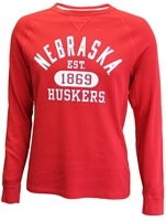 Huskers League Waffle Tee Nebraska Cornhuskers, Nebraska  Long Sleeve, Huskers  Long Sleeve, Nebraska  Ladies T-Shirts, Huskers  Ladies T-Shirts, Nebraska  Mens T-Shirts, Huskers  Mens T-Shirts, Nebraska Husker Red Waffle L/S by League, Huskers Husker Red Waffle L/S by League
