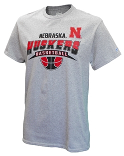 Huskers Basketball Stillness Tee Nebraska Cornhuskers, Nebraska  Basketball, Huskers  Basketball, Nebraska  Mens T-Shirts, Huskers  Mens T-Shirts, Nebraska  Mens, Huskers  Mens, Nebraska  Short Sleeve, Huskers  Short Sleeve, Nebraska Huskers Basketball Stillness Tee, Huskers Huskers Basketball Stillness Tee
