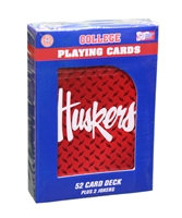 Huskers Diamond Plate Playing Cards Nebraska Cornhuskers, Nebraska  Game Room & Big Red Room, Huskers  Game Room & Big Red Room, Nebraska Huskers Diamond Plate Playing Cards, Huskers Huskers Diamond Plate Playing Cards