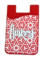 Huskers Flower Phone Wallet Nebraska Cornhuskers, Nebraska  Ladies Accessories, Huskers  Ladies Accessories, Nebraska  Ladies, Huskers  Ladies, Nebraska Huskers Flower Phone Wallet, Huskers Huskers Flower Phone Wallet
