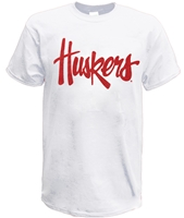 Huskers Script Tee - White Nebraska Cornhuskers, Nebraska  Mens T-Shirts, Huskers  Mens T-Shirts, Nebraska  Mens, Huskers  Mens, Nebraska  Short Sleeve, Huskers  Short Sleeve, Nebraska  Ladies T-Shirts, Huskers  Ladies T-Shirts, Nebraska  Ladies, Huskers  Ladies, Nebraska Huskers Script Tee - White, Huskers Huskers Script Tee - White