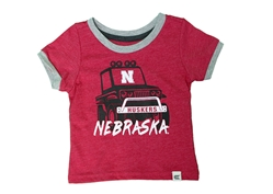 Infant Nebraska Mud Flap Tee Nebraska Cornhuskers, Nebraska  Infant, Huskers  Infant, Nebraska  Kids, Huskers  Kids, Nebraska Infant Nebraska Mud Flap Tee , Huskers Infant Nebraska Mud Flap Tee