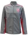 Iron N Full Zip Acceptor Shell Jacket Nebraska Cornhuskers, Nebraska  Mens Outerwear, Huskers  Mens Outerwear, Nebraska  Mens, Huskers  Mens, Nebraska Gray Full Zip Acceptor Shell Jacket Col, Huskers Gray Full Zip Acceptor Shell Jacket Col