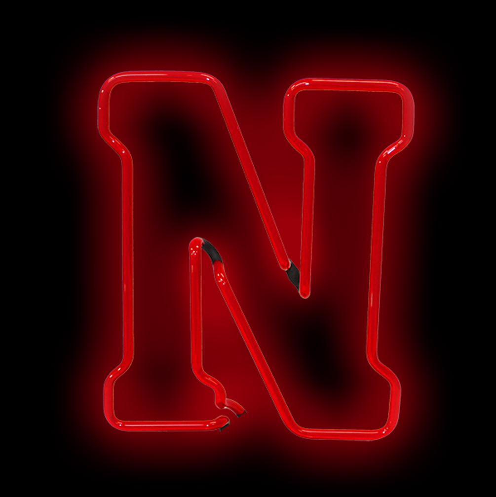 N Logo Neon Light