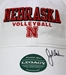John Cook Autographed Huskers Volleyball Cap - JH-C9802