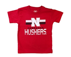 Kids Nebraska Huskers New Day Tee Nebraska Cornhuskers, Nebraska  Childrens, Huskers  Childrens, Nebraska  Kids, Huskers  Kids, Nebraska Kids Nebraska Distressed Squares Tee, Huskers Kids Nebraska Distressed Squares Tee