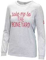 Ladies Husker Boneyard LS Tee Nebraska Cornhuskers, Nebraska  Ladies Tops, Huskers  Ladies Tops, Nebraska  Ladies T-Shirts , Huskers  Ladies T-Shirts , Nebraska  Ladies , Huskers  Ladies , Nebraska Ladies Take Me to the Boneyard LS, Huskers Ladies Take Me to the Boneyard LS