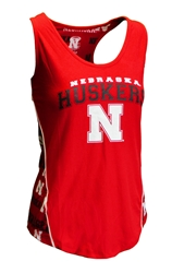 Ladies Nebraska Huskers Stretch Knit Tank Nebraska Cornhuskers, Nebraska  Tank Tops, Huskers  Tank Tops, Nebraska  Ladies T-Shirts, Huskers  Ladies T-Shirts, Nebraska Red Womens Fairway Knit Tank Top Concepts, Huskers Red Womens Fairway Knit Tank Top Concepts