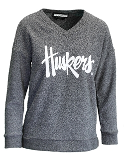 Ladies Reverse Loop Huskers VNeck Nebraska Cornhuskers, Nebraska  Ladies, Huskers  Ladies, Nebraska  Ladies Sweatshirts, Huskers  Ladies Sweatshirts, Nebraska Ladies Reverse Loop Huskers VNeck, Huskers Ladies Reverse Loop Huskers VNeck