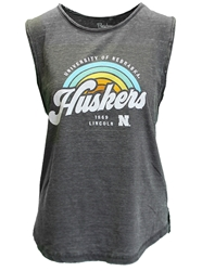Lady Huskers Sunrise Muscle Tank Nebraska Cornhuskers, Nebraska  Ladies, Huskers  Ladies, Nebraska  Tank Tops, Huskers  Tank Tops, Nebraska  Ladies Tops, Huskers  Ladies Tops, Nebraska  Ladies T-Shirts, Huskers  Ladies T-Shirts, Nebraska Lady Huskers Sunrise Muscle Tank, Huskers Lady Huskers Sunrise Muscle Tank