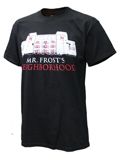 Mr. Frost's Neighborhood Tee Nebraska Cornhuskers, Nebraska  Mens T-Shirts, Huskers  Mens T-Shirts, Nebraska  Mens, Huskers  Mens, Nebraska  Short Sleeve, Huskers  Short Sleeve, Nebraska Mr. Frost's Neighborhood Tee, Huskers Mr. Frost's Neighborhood Tee