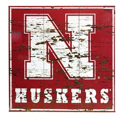 Nebraska Distressed Wood Wall Sign Nebraska Cornhuskers, Nebraska  Framed Pieces, Huskers  Framed Pieces, Nebraska  Game Room & Big Red Room, Huskers  Game Room & Big Red Room, Nebraska  Office Den & Entry, Huskers  Office Den & Entry, Nebraska Nebraska Distressed Wood Wall Sign, Huskers Nebraska Distressed Wood Wall Sign
