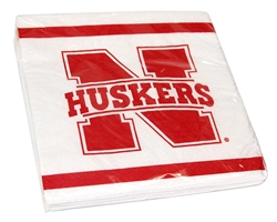 Nebraska Lunch Napkin Pack Nebraska Cornhuskers, Nebraska  Kitchen & Glassware, Huskers  Kitchen & Glassware, Nebraska  Game Room & Big Red Room, Huskers  Game Room & Big Red Room, Nebraska  Tailgating, Huskers  Tailgating, Nebraska  Summer Fun, Huskers  Summer Fun, Nebraska Nebraska Lunch Napkin Pack, Huskers Nebraska Lunch Napkin Pack