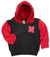 Nebraska N Full Zip Youngsters Hoodie Nebraska Cornhuskers, Nebraska  Infant, Huskers  Infant, Nebraska  Childrens, Huskers  Childrens, Nebraska Red Black Full Zip Hoodie, Huskers Red Black Full Zip Hoodie