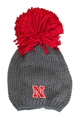 Nebraska Rally Big Pom Beanie Nebraska Cornhuskers, Nebraska  Mens Hats, Huskers  Mens Hats, Nebraska  Mens Hats, Huskers  Mens Hats, Nebraska Nebraska Rally Big Pom Beanie, Huskers Nebraska Rally Big Pom Beanie