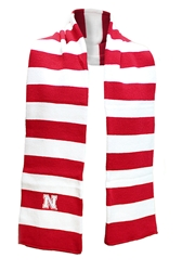 Nebraska Rugby Knit Scarf Nebraska Cornhuskers, Nebraska  Ladies, Huskers  Ladies, Nebraska  Mens, Huskers  Mens, Nebraska  Mens Accessories, Huskers  Mens Accessories, Nebraska  Ladies Accessories, Huskers  Ladies Accessories, Nebraska Nebraska Rugby Knit Scarf, Huskers Nebraska Rugby Knit Scarf
