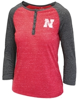 Nebraska Slopestyle Henley Nebraska Cornhuskers, Nebraska  Ladies Tops, Huskers  Ladies Tops, Nebraska Womens T-Shirt, Huskers Womens T-Shirt, Nebraska  Ladies, Huskers  Ladies, Nebraska  Long Sleeve, Huskers  Long Sleeve, Nebraska Red W Slopestyle Henley Col, Huskers Red W Slopestyle Henley Col