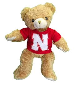 Nebraska Supersoft Teddy Bear Nebraska Cornhuskers, Nebraska  Toys & Games, Huskers  Toys & Games, Nebraska Nebraska Supersoft Teddy Bear, Huskers Nebraska Supersoft Teddy Bear