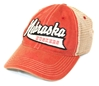 Nebraska Tailsweep Washed Trucker Top Nebraska Cornhuskers, Nebraska  Mens Hats, Huskers  Mens Hats, Nebraska  Mens Hats, Huskers  Mens Hats, Nebraska Red Tailsweep Washed Trucker Legacy, Huskers Red Tailsweep Washed Trucker Legacy