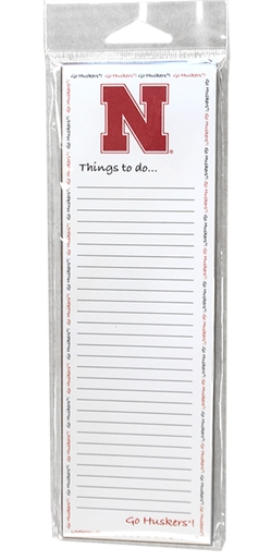 Nebraska Things To Do Memo Pad Nebraska Cornhuskers, Nebraska  Office Den & Entry, Huskers  Office Den & Entry, Nebraska Nebraska Things To Do Memo Pad, Huskers Nebraska Things To Do Memo Pad