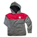 Nebraska Youth Colorblock Quarter Zip Hoodie - YT-B8331