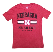 Nebraska Youth Player Pride Triblend Nebraska Cornhuskers, Nebraska  Youth, Huskers  Youth, Nebraska  Kids, Huskers  Kids, Nebraska Nebraska Youth Player Pride Triblend, Huskers Nebraska Youth Player Pride Triblend