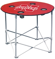 Huskers Tailgating Collapsable Round Table Nebraska Cornhuskers, Round Tailgating Table W/ New Logo