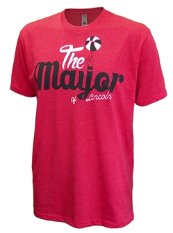 The Mayor of Lincoln Basketball Tee Nebraska Cornhuskers, Nebraska  Mens, Huskers  Mens, Nebraska  Short Sleeve, Huskers  Short Sleeve, Nebraska  Mens T-Shirts, Huskers  Mens T-Shirts, Nebraska  Basketball, Huskers  Basketball, Nebraska The Mayor of Lincoln Basketball Tee, Huskers The Mayor of Lincoln Basketball Tee