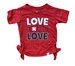 Toddler Girls Love N Bossy Boots Tee - CH-D7008