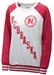 UNL Seal Oatmeal Raglan Sweatshirt - AS-A1177
